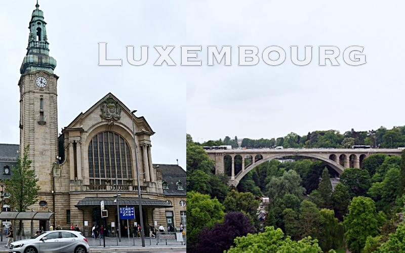 盧森堡|布魯塞爾到盧森堡一日遊景點。用火車通行證走逛好方便