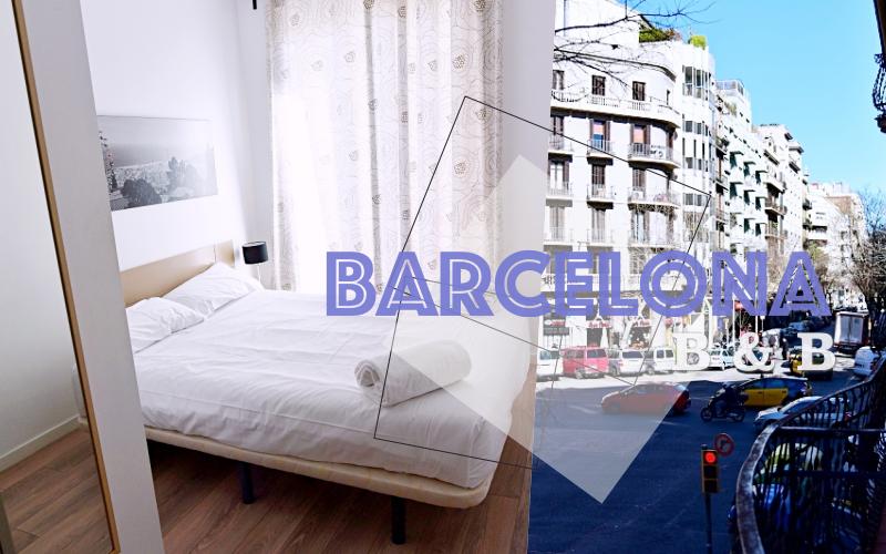西班牙|巴賽隆納市區住宿·公寓民宿B&B。天!上飛機前·把護照反鎖在屋內了