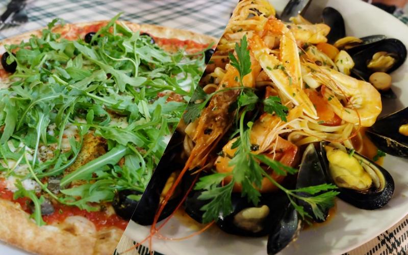 義大利米蘭|超美味家常義大利餐廳。價格便宜。披薩義大利麵都好美味唷!
