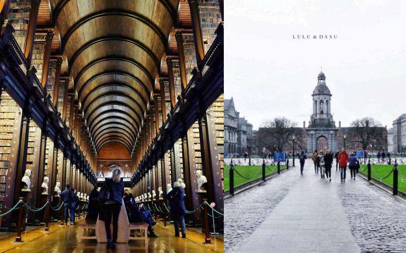 愛爾蘭都柏林|三一學院圖書館+愛爾蘭國寶凱爾斯之書Book of Kells