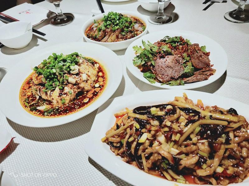 上海美食|渝信川菜。2018米其林指南上海上榜餐廳