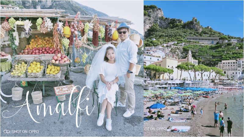 OPPO R15:Ciao!Amalfi!阿瑪菲·一生必訪的美麗海岸
