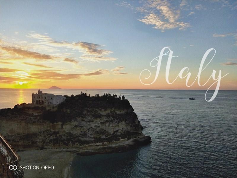 OPPO R15:南義風光明媚的瞬間。令人神迷的色澤與天光