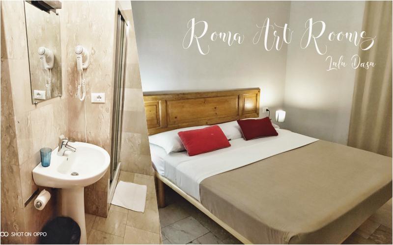羅馬Termini火車站|周邊便宜住宿飯店。家庭式旅館 Roma Art Rooms