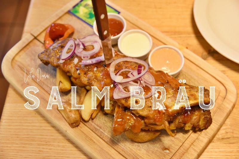 奧地利。維也納美食|美景宮旁超美味的Salm Bräu平價豬肋排·