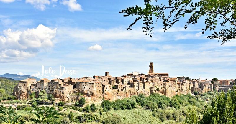 義大利私房古城景點|PITIGLIANO·羅馬近郊托斯卡尼靜謐的山城