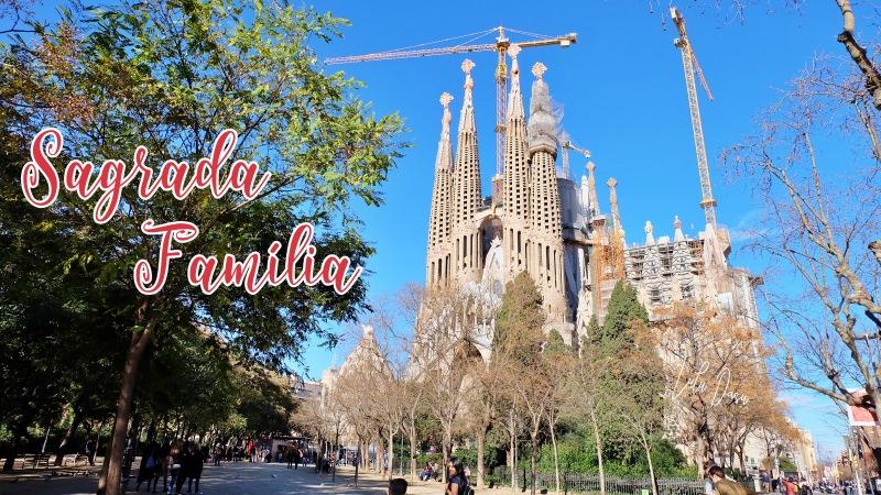 西班牙|巴塞隆納·聖家堂購票、參觀、必拍景點-世界文化遺產