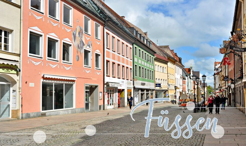 菲森Füssen古城區住宿推薦|十家古城區優質飯店總整理・古城內好逛街!