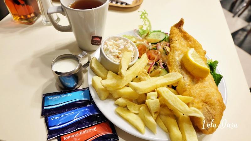 都柏林市區平價美食|Beshoff Restaurant・好吃不貴的魚薯條店