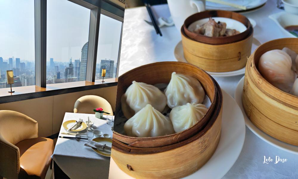 上海景觀餐廳|上海美食·萬豪軒港式飲茶・整個上海市景陪你吃飲茶