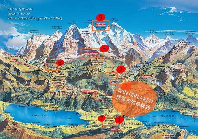 Jungfrau-Grindelwald-region-summer-map - 複製