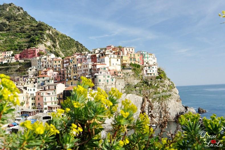 比薩斜塔 五漁村 五鄉地 義大利自助旅行